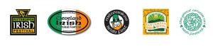 Irish Festival Logos
